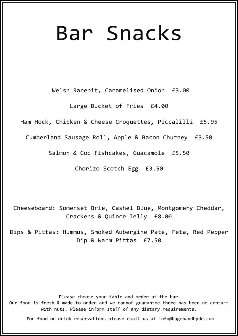 Microsoft word new bar snacks menu 17 04 hagen for Snack bar menu