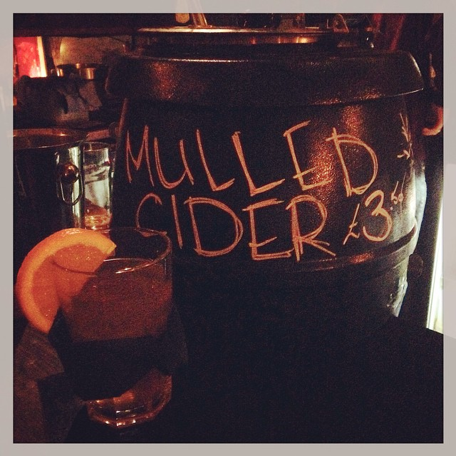 It's that time of year again folks! We're been mulling cider (yes, it includes brandy!) £3.50 for a mug full, come get it while it lasts! #winterwarmers #mulledcider