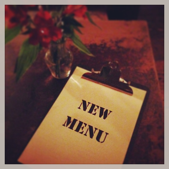 New Menu launching tomorrow. Be excited folks, it pretty damn awesome! #balham #food